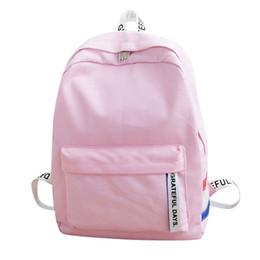$enCountryForm.capitalKeyWord Australia - Women's bag unisex 2019 fashion canvas backpack men's large capacity travel backpack female Korean women's clothing mujer bolsas female pink