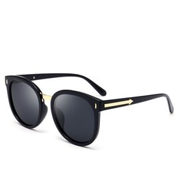 $enCountryForm.capitalKeyWord Australia - Arrow Large Size Round Women's Polarized Sunglasses Men's Sunglasses Fashion Beach Casual Sunglasses European and American New