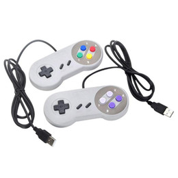 Classic USB Controller PC Controllers Gamepad Joypad Joystick Replacement for Super Nintendo SF for SNES NES Tablet PC LaWindows MAC on Sale