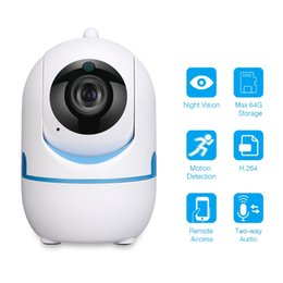 Audio Surveillance Infrared Australia - Wireless wifi IP Camera Motion Sound Detection Security camera Night Vision 2-Way Audio 720P Surveillance baby monitor