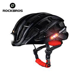 9380990e7a ROCKBROS Ligero Casco de Bicicleta Ultraligero Casco de Bicicleta  Intergrally Impermeable Camping Ciclismo Deportes de Seguridad Hombres al  aire libre