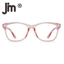 $enCountryForm.capitalKeyWord Australia - Blue Light Blocking Computer Reading Glasses, Reduce Eye Strain Anti Glare Clear Lens Video Eyeglasses Men Women Pink