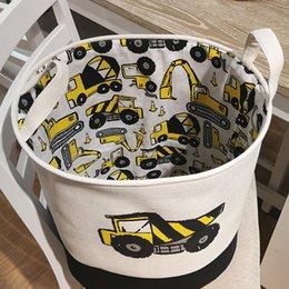$enCountryForm.capitalKeyWord Australia - New Folding Laundry Basket Storage Barrel Standing Car Clothing Storage Bucket Laundry Organizer Holder Pouch Household