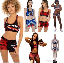 Nuevo Ethika Traje de baño para mujer Ropa de playa Chaleco en forma de I Pantalones cortos de baño Traje de baño A cuadros Traje de baño Camuflaje de tiburón Traje de baño Bikini A3212 en venta