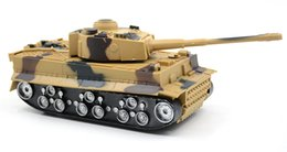 rechargeable toy cars UK - Ready-to-go Remote Control Tank Car Suv Artillery Children Boy Rechargeable Electric Toy Model Simulation