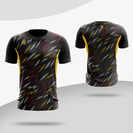 c776ea43d badminton jersey green yellow 2019 - 2019 New Badminton sports shirt