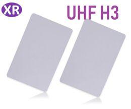 Rfid Entry Card Australia - DHL 500pcs Plastics PVC Long Range uhf rfid card 860-960mhz tag for Door Control Entry Access Card Alien H3 Smart Card