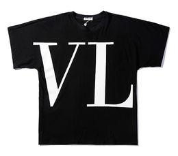 Chinese  9102 Summer Designer black V vl tn T Shirts For Men Tops big Letter print T Shirt Mens Clothing Brand Short Sleeve Tshirt Women Tops S-2XL manufacturers
