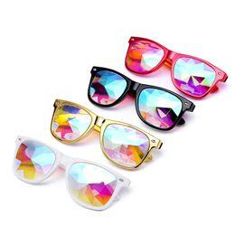 $enCountryForm.capitalKeyWord UK - Sunglasses Women 2019 Kaleidoscope Colorful Glasses Women Rave Festival Party EDM Sunglasses Male Female Retro Diffracted Lens