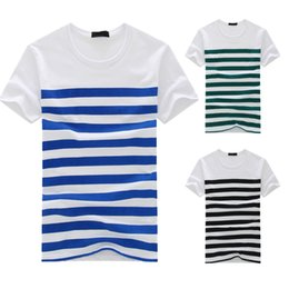 $enCountryForm.capitalKeyWord Australia - 2019 Best Selling Products Men's Fashion Casual Stripe Printed Short Sleeve T-shirt Pullover Top Blouse Tee Camisetas Hombre
