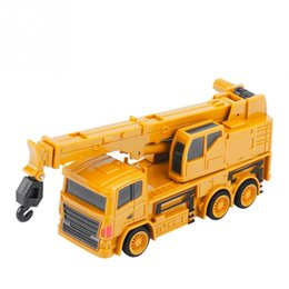 wood cars for kid Australia - Hot Sale 1 64 RC Excavator Truck Digger Toy Excavator  Dumping Car  Crane Mini Construction Vehicle Toys For Children Kids Gift