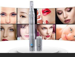 $enCountryForm.capitalKeyWord Australia - YYR DERMA PEN rechargeable stainless steel electric meso machine auto derma pen microneedling therapy system with battery and socket