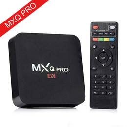 $enCountryForm.capitalKeyWord Australia - Hot MX2 MXQ PRO Android 7.1 TV BOX Amlogic S905W Quad Core Smart Tv Box With Customized 18.1 4K Media Player