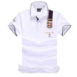 Retail Polo Australia - High Quality Camisas Masculinas Polo Australian Retail Aeronautica Militare Mens Polo Shirt Air Force One Embroidered