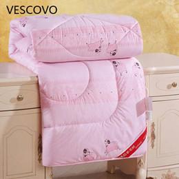 $enCountryForm.capitalKeyWord Australia - Winter Wool Duvet quilted Quilt king queen twin full size Comforter Blanket 100% Cotton Bedding Filler