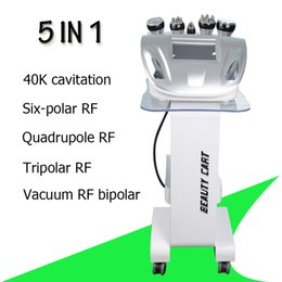 cavitation laser 2019 - Best cavitation equipment fat reduction rf laser slimming face lifting tripolar bipolar rf machine wrinkle removal cheap