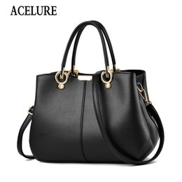 $enCountryForm.capitalKeyWord Australia - ACELURE Designer Women Handbag Female PU Leather Bags Handbags Ladies Portable Shoulder Bag Office Ladies Hobos Bag Totes Bolsos