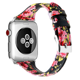 Thin leaTher waTch band online shopping - Thin Waist Leather Watcband Wrist Strap Belt Accessoreis for Apple Watch mm mm Straps Bracelet for iWatch Band Series