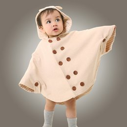 $enCountryForm.capitalKeyWord NZ - Children clothing Organic colored cotton spring and autumn baby cloak,baby jackets cloaks gown,Infant cartoon warm shawl coats