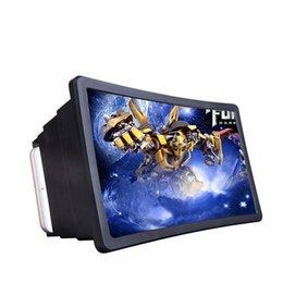 Универсальный экран мобильного телефона лупа защита глаз 3D экран Retractabl усилитель простой, щедрый малый размер, легко носить с собой