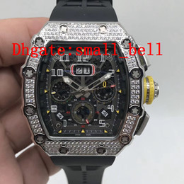 $enCountryForm.capitalKeyWord Australia - Factory direct new products all ice men's stainless steel watches imported automatic mechanical men's 43 mm 11-03 rubber diamond watch