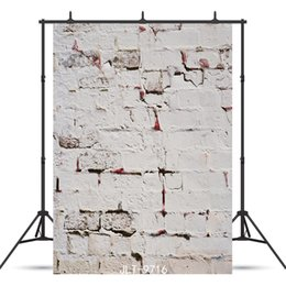 Chinese  grunge vintage brick wall spotlight Vinyl photography background for child baby shower new born portrait backdrop photocall photo studio manufacturers