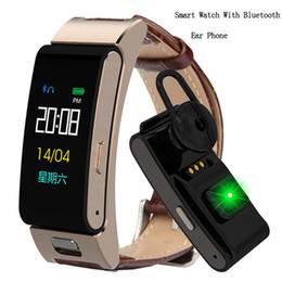 Smart Watch Brown Australia - Fitness Watch Men Women Bluetooth Talk Band Heart Rate Monitor Sports Smart Watch For Run Call Earphone Wristband Android IOS
