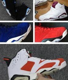 c5d741fc5136 Wholesale Top Quality VI 6s Carolina Blue Black gatorademan basketball shoes  Hot Sale 6 sport shoes sneakers size eur 41-47