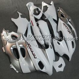 White Katana Australia - Botls+Custom silver white motorcycle Fairing For Suzuki Katana GSX600F 2003 -2006 GSX750F 03 04 05 06 ABS Plastic motor Fairing