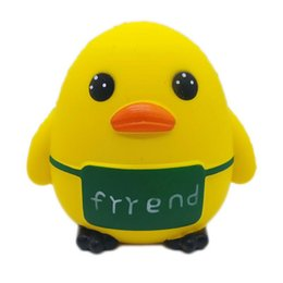 $enCountryForm.capitalKeyWord UK - low price Squishy cute yellow duck Squishies Toys Kawaii Slow Rising Jumbo Squeeze Phone Charms Stress Reliever Kids adult Gift