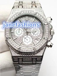 Luxury Watches World Australia - VK Quartz men's brand watch silver diamond luxury fashion watches popular hot men's watch in the world new style listed