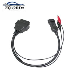 $enCountryForm.capitalKeyWord Australia - Alfa Lancia 3Pin to OBD2 16Pin For Vehicles OBD OBDII Car Connector For 3 Pin to 16 Pin Female High Quality