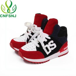 massage girls UK - Cnfsnj Brand 2018 New Spring Autumn Sports Shoes Children For Boys Girls Lace-up Anti-slippery Fashion Flat With Sneakers 26-36 Y19051303