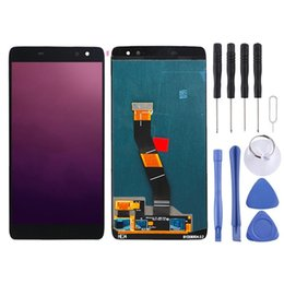 alcatel idol lcd UK - LCD Screen and Digitizer Full Assembly for Alcatel Idol 4s OT6070   6070k   6070y   6070