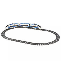 Rail Toys Australia - City Trains Flexible Track Accessory Flexible Rail Switch Building Block Bricks Kids Toys Compatible With Legoingly Tracks 7499