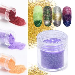 2019 Latest Design Qibest Shimmer Glitter Powder Eye Shadow Face Eyes Lips Nails And Glue Waterproof Colorful Laser-makeup Brand Qibest #l18036 Beauty & Health