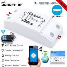Remote Light Switch Receiver Australia - Sonoff RF WiFi Smart Switch Interruptor 433Mhz RF Receiver Intelligent Remote Wireless Control for Smart Home Wi-fi Light Switch