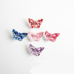 $enCountryForm.capitalKeyWord UK - 1 PCs New Fashion Charming Hair Accessories Retro Butterfly Hairpins Crab Mini Hair Clips For Women Girls Headwear Jewelry