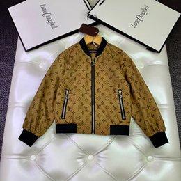 $enCountryForm.capitalKeyWord Australia - High-end Customization Children's Children Loose Coat Autumn New In Child Leisure Time Jacket Color Girl 0714