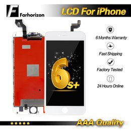Iphone Screen Testing Australia - For iPhone 6s Plus LCD Display Grade A+++ Touch Screen Digitizer Assembly Replacement Display Tested Without Dead Pixel Free Shipping