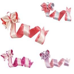 Girls satin bow hair clip online shopping - Candy Color Satin Hair Bows With Long Barrette Holder For Girls Kids Hair Clip Organizer Grosgrain Ribbon Storage Belt