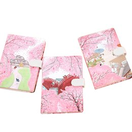 notepad cats NZ - Golden Valley Cat Language Floral Magnetic Bucket Ultra Thick Creative Diary literary small fresh Korean Notepad Statioenry esale