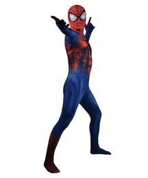 Spiderman Party Suit Australia - 3D Print Ben Reilly Spider-Man Cosplay Costume Lycra Spiderman Zentai Bodysuit Halloween Party Suit