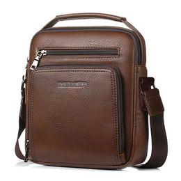 e49db355cec Camel Man Bags Australia - High Quality Men Shoulder Bag Vintage Male Pu  Leather Messenger Bags