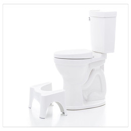 New Arrivals Squatty Potty Help Prevent Constipation Bathroom Toilet Aid Squatty Step Foot Stool For Elderly Pregnant Foot Treatment on Sale