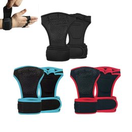 $enCountryForm.capitalKeyWord Australia - New 1 Pair Weight Lifting Training Gloves Women Men Fitness Sports Body Building Gymnastics Grips Gym Hand Palm Protector Gloves