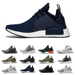 e653ebaa9 High Quality NMD XR1 Running Shoes OG Zebra Mastermind Japan stripe-black Olive  green Black White navy camo men women sports shoes 36-45