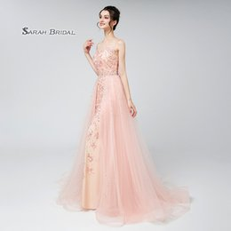 Wedding Beaded Prom Graduation Dresses Australia - Mint Sheath Tulle Beaded Prom Party Dress with Overskirt 2019 Sexy Elegant Beading Vestidos De Festa Evening Wear Formal Occasion Gown LX576