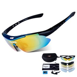 sunglasses polarizadas NZ - Polarized Cycling Glasses Fishing Driving Bicycle Outdoor Sport Sunglasses Eyewear gafas de sol polarizadas 5 Lens Set