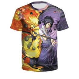 $enCountryForm.capitalKeyWord UK - 2019 European and American explosion models 3D digital printing Naruto series couple short-sleeved T-shirt B121-274